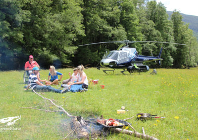 Greenstone Heli-Lunch